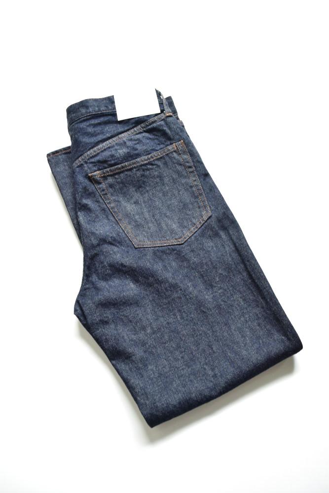 画像1: UNUSED (アンユーズド) 13oz denim five pockets pants short length  / UW0818 [indigo]  (1)
