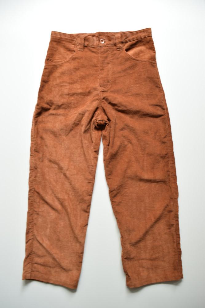 画像1: 【MORE SALE】STORY mfg / American Jeans [Bark Fat Corduroy] (1)