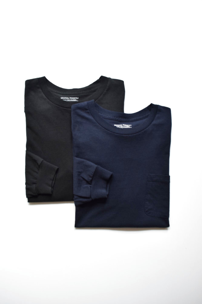 画像1: 【MORE SALE】UNIVERSAL PRODUCTS (ユニバーサルプロダクツ) HEAVY WEIGHT L/S TEE [2-colors] (1)