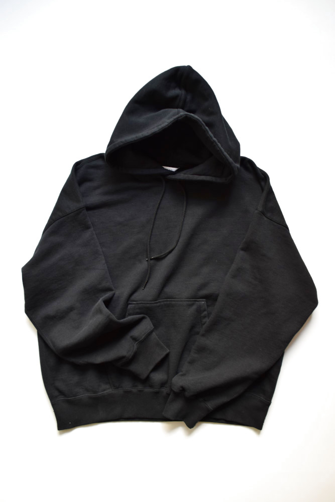 画像1: UNUSED (アンユーズド) sweat hoodie / US1680 [black]  (1)