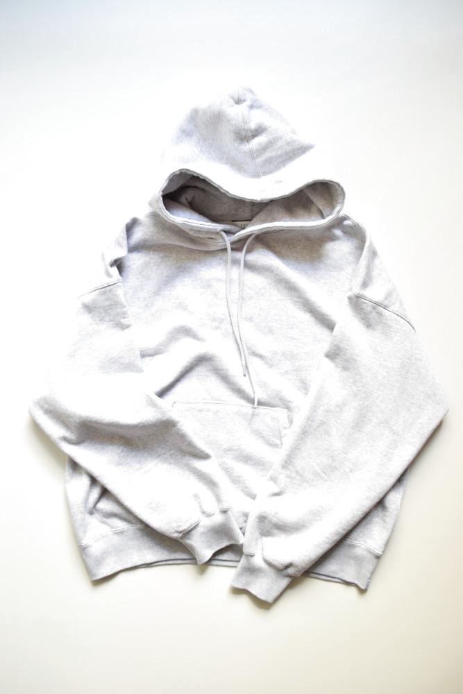 画像1: UNUSED (アンユーズド) sweat hoodie / US1680 [heather gray]  (1)