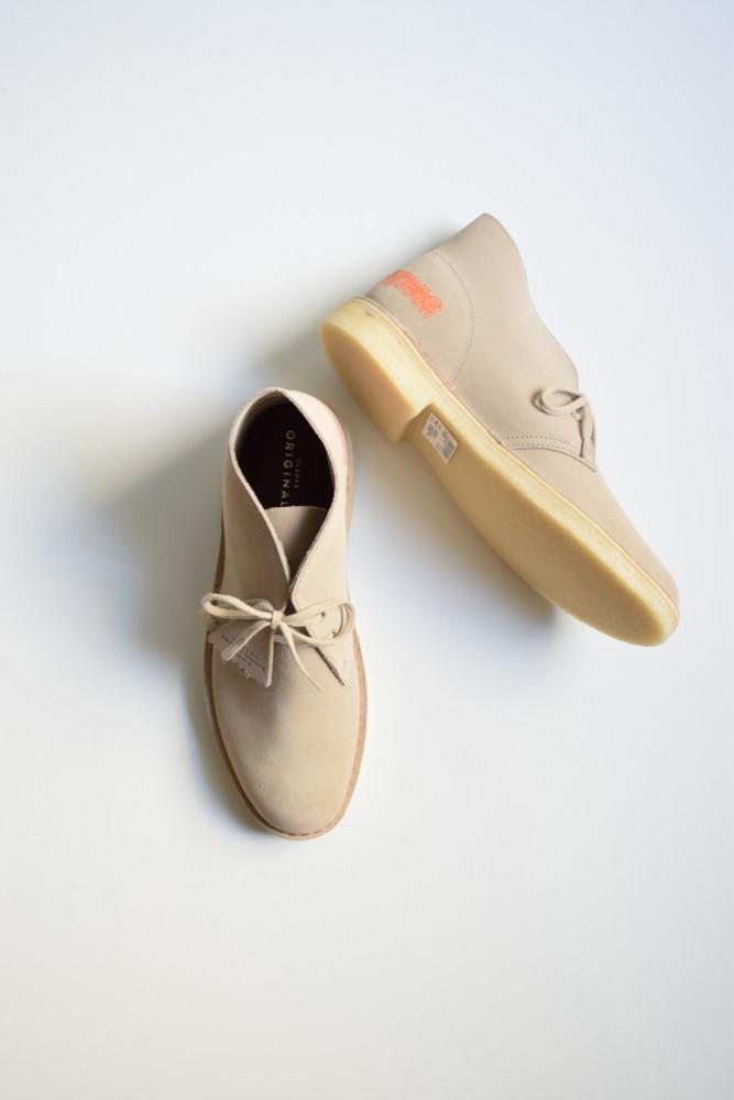 画像1: UNUSED (アンユーズド) × Clarks Desert Boot / UH0504 [sand]  (1)