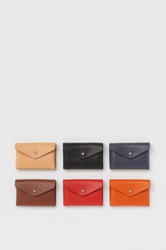 画像1: Hender Scheme (エンダースキーマ)  one piece card case  [3-colors] (1)