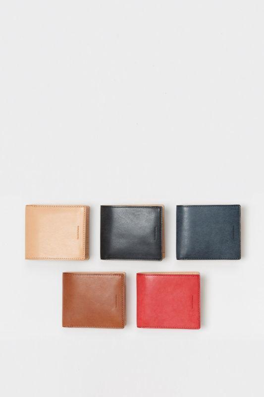 画像1: Hender Scheme (エンダースキーマ) half folded wallet [3-colors] (1)