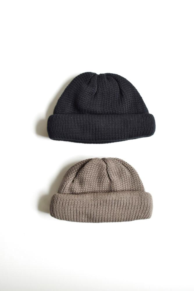 画像1: COMESANDGOES (カムズアンドゴーズ) roll knit no.16581 [2-colors] (1)