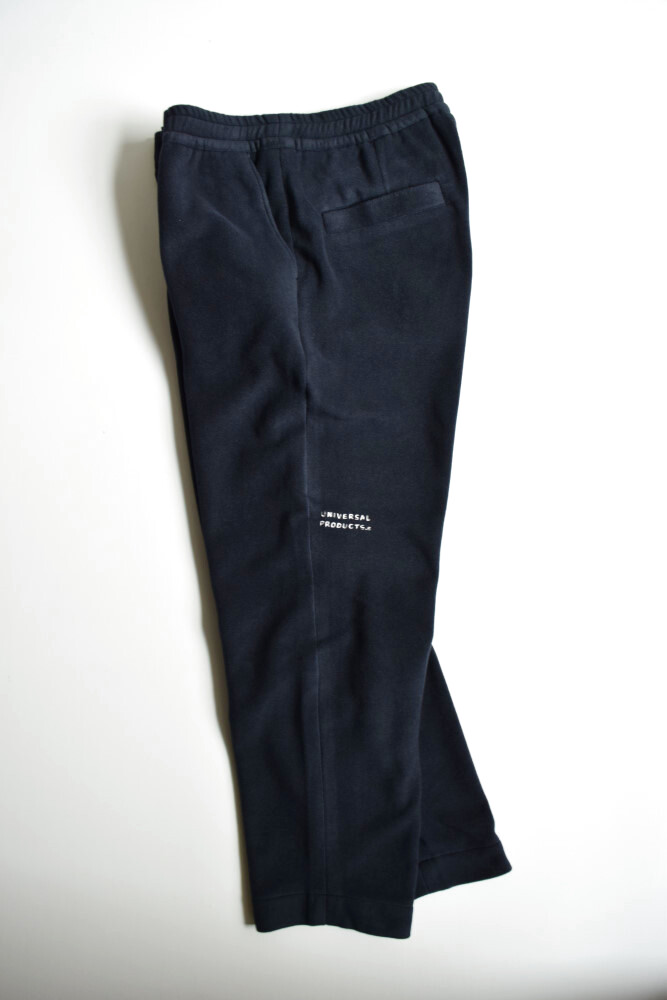 画像1: UNIVERSAL PRODUCTS (ユニバーサルプロダクツ) + N FLEECE EASY PANTS [NAVY] (1)