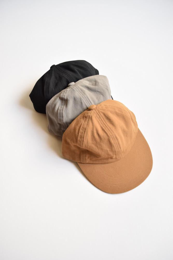 画像1: COMESANDGOES (カムズアンドゴーズ) COTTON 6PANELS CAP no.16598 [3-colors] (1)