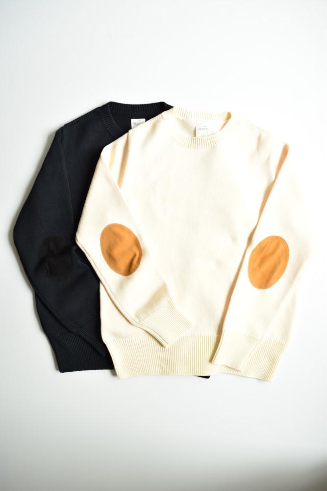 画像1: THE NERDYS (ザ ナーディーズ) HARD cotton Knitsweat [2-colors] (1)
