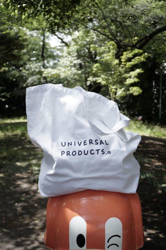 画像1: UNIVERSAL PRODUCTS (ユニバーサルプロダクツ) + N TOTE BAG [WHITE] (1)