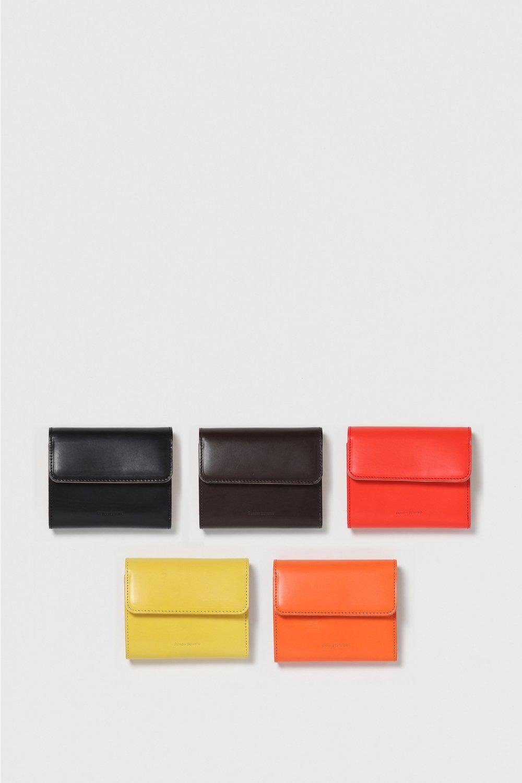 画像1: hender scheme (エンダースキーマ) bellows wallet [2-colors] (1)